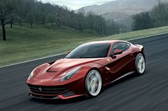 Who wouldn't want to drive the Ferrari F12 Berlinetta. Its simply a piece of art on wheels.