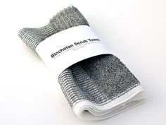 Binchotan Charcoal Body Scrub Towel The natural antibacterial, odor-absorbing, and detoxifying properties of charcoal make this scrubby towel a locker room must.
