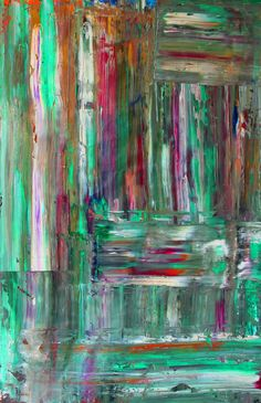 Plantación adentro. Óleo sobre lienzo 98 x 155 centímetros.  #abstraction #paintings #abstractpainting #artabstract #abstractart #oilpainting #oiloncanvas #green #verde #art #temocpalomino