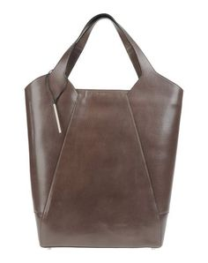 textured leather tote