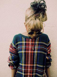#tartan awesome jumper