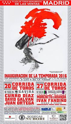 Bullfighting tickets. Tickets for bullfights in Madrid and Sevilla: Las Ventas Bullfighting season.