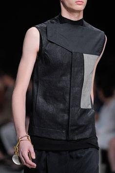 Visions of the Future // rick owens Dark Fashion, Leather Fashion, Urban Fashion, Fashion Moda, Mens Fashion, Fashion Details, Fashion Tips, Fashion Design, Rick Owens Men