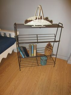 Your place to buy and sell all things handmade Garden Rack, Mid Century Style, American Art, Bookshelves, Magazine Rack, Wire Racks, Whitney Museum, Cabinet, Storage