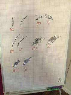 Some tips for begginers:  - Don't draw straight and stiff lines, but soft and a little bit rounded. - Never crisscross hairstrokes! - Don't draw hairstrokes one after another, you'll create unnecessary empty spaces. - Keep same distance between hairstrokes(about 1mm) ...and NEVER draw hairstrokes against natural hair growth!  Good luck