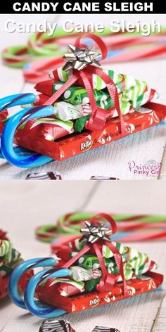 How to Make a Candy Cane Sleigh How to Make Candy Cane Sleighs with Candy Bars for Christmas! These make the best DIY Christmas gifts! Perfect for teachers, friends and family! The post How to Make a Candy Cane Sleigh appeared first on DIY Crafts. Christmas Candy Crafts, Christmas Crafts For Gifts, Cheap Christmas, Homemade Christmas Gifts, Kids Christmas, Diy Christmas Gifts For Coworkers, Perfect Christmas Gifts, Diy Christmas Boxes, Gift Baskets For Christmas