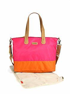 Storksak Colorblocked Diaper Bag