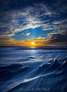 frozen lake by Phil Koch