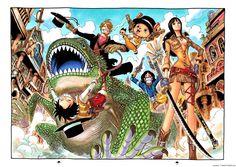 [ArtBook] One Piece Databook - Color Walk 5: Shark 13