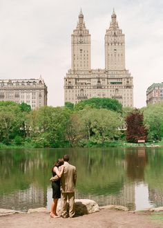Central Park Engagement Session // NYC Wedding Photographer » Lindsay Madden Photography