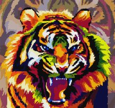 Perler Beads, Cross Stitch Patterns, Drawings, Projects, Crafts, Journal, Contemporary, Cross Stitch, Animals