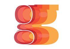 logo idea-- dimensional letters