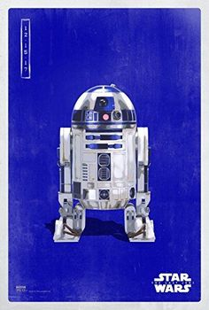 Fast Shipping Huge wall Poster  22 inch x 34 inch R2D2 Star Wars Selfee