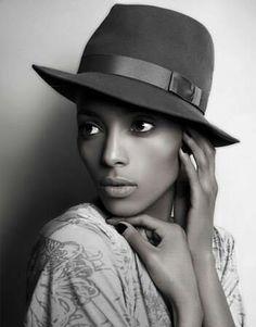 African American Model Idead