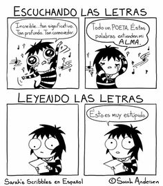 Anybody who's familiar with the comics of Sarah Andersen will know how perfectly they summarize the daily struggles of modern life, especially when it comes to Sarah Anderson Comics, Sara Anderson, Bd Comics, Cute Comics, Funny Comics, Funny Cartoons, Humor Mexicano, Sarah's Scribbles, 4 Panel Life
