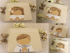 Libro de firmas COMUNION - ARRIBAENELDESVANbyCarmenhf ® decoración infantil personalizadadecoracion-infantil-personalizada