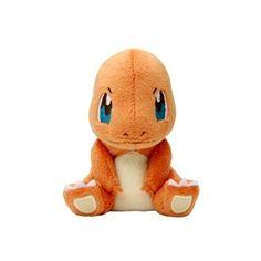 "Amazon.com: Pokemon Center Pokemon Canvas Plush Doll ~5"" - Charmander:... (115 BRL) ❤ liked on Polyvore featuring pokemon, stuffed animals, toys, plushies and baby"