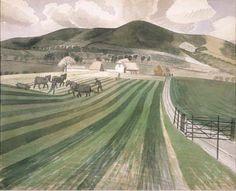 Mount Caburn Eric Ravilious