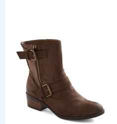 10 Comfortable Pairs Of Women's Boots That Aren't Uggs ride it out $69 modcloth.com