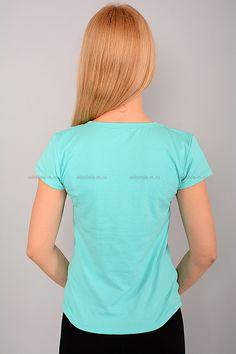 Футболка Г1463 Цена: 168 руб Стильная футболка прилегающего покроя, выполнена из тонкого материала. Модель с округлым вырезом горловины, украшено принтом. Состав: 100 % хлопок. Рост модели на фото: 167 см. Страна производства: Китай. Размеры: 44-48  http://odezhda-m.ru/products/futbolka-g1463  #одежда #женщинам #футболки #одеждамаркет