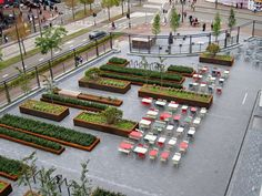 As green square, Mathildeplein offers peace and quiet in the hectic city centre of Eindhoven