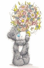 Tatty is sending all our Friends some lovely flowers for Pinning and Sharing