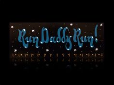 FOR SALE : Run Daddy Run - 15 hooks - £19.99  EBAY STORE : http://www.ebay.co.uk/itm/171860862972  WEBSITE : http://wimblettproducts.co.uk/collections/sports-medal-hanger-displays/products/run-daddy-run #hooks #medaldisplay #running #dad #stars #sportinggoods #trophies #eBay #wimblettproducts #achievement #forsale #inspirational #inspirationalquotes #medaldisplays #quoteoftheday #sign #victorious #sports #sportquotes #gift #birthday #present #male #father #son #husband #brother #uncle