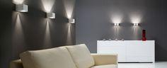 Discover the lamps collection Dau of Milan Iluminación. Shops, Wall Lights, Curtains, Lighting, Valencia, Home Decor, Milan, Templates, Modern Wall
