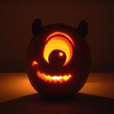 mike wazowski pumpkin carving - Google Search