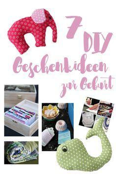 7 persönliche DIY Geschenke zur Geburt {mit Anleitung - u.a. Babydecken, kleine Kuscheltiere, DIY Kosmetik für die Mama und Co.} und alternative Geschenkideen zum Kaufen