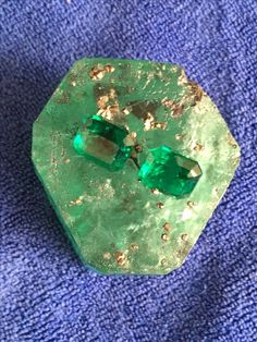 Rough raw emerald monster emerald