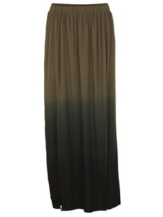 VEDI LONG SKIRT, IVY GREEN