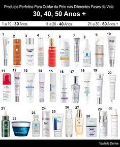 Produtos Perfeitos Para Cuidar da Pele nas Diferentes Fases da Vida