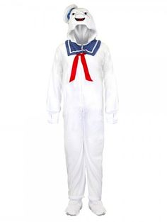 Ghostbusters Stay Puft Marshmallow Man Pajamas!   Project-Nerd