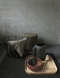 By Stefanie Maas.  Wire Basket - www.fermliving.com