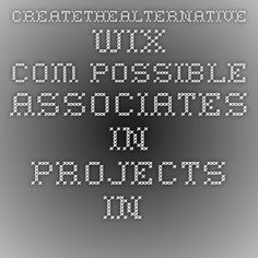 createthealternative.wix.com Possible associates in projects in Spain.