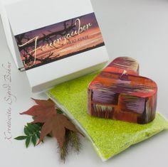 Herz-Kerze FEUERZAUBER 3er Geschenkset von  Kerzenkunst -  Kreatiwita auf DaWanda.com