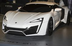 W Motors Lykan Hypersport - The world's most expensive supercar. Price: 3.4m