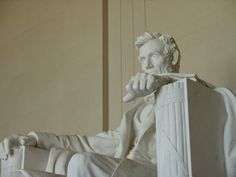 Lincoln Memorial-- the Mall in Washington is just, well, just so American.  Showcasing what we should and could be and sometimes and often are. Love it there.