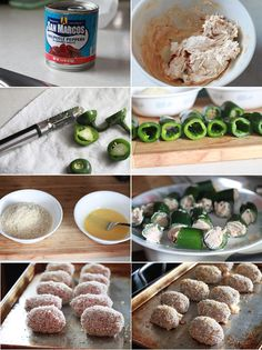 jalapeno poppers wrapped in PORK