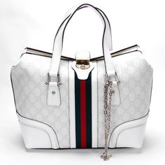 White Gucci Handbag #summerswag