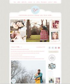 Blog Design from Seaside Creative