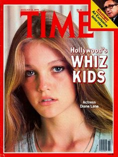 """time magazine covers. After seeing Diane Lane in the movie, """"A Little Romance"""" when I was a kid, I loved Diane Lane so much."""