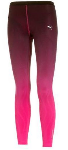Fashion Running Tights of The Week - Puma RCVR Power Fitness Tights in beetroot and purple shade £80