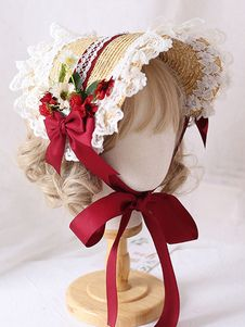 Kawaii Accessories, Head Accessories, Kawaii Wigs, Bow Pattern, Lolita, Flower Hats, Lace Bows, Sweet Style, Floral Wreath