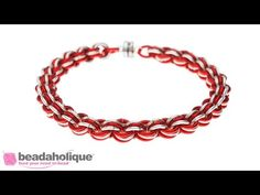 How to Do a 3-in-3 Chain Maille Weave - YouTube
