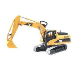 "$52.01.  The ""Giant Excavator.""  Perhaps a bit too giant. Bruder Toys Caterpillar Excavator"