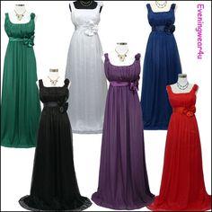 Cherlone Chiffon Long Ball Formal Bridesmaid Prom Wedding/Evening Gown Dress  | eBay