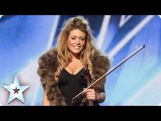 Plummy Lettice impresses the Judges with her super posh personality but her real talent blows them away. Watch her electric violin versions of pop hits including Imagine Dragons' Demons and One Republic's Counting Stars. Talent Show, Britain's Got Talent Judges, America's Got Talent, American Idol, Music Songs, Music Videos, Music Tabs, New Britain, Pop Hits