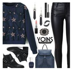 """YOINS - SHINING STAR STYLE"" by deborah-calton ❤ liked on Polyvore featuring Deborah Lippmann, Chanel, MAC Cosmetics, yoins, yoinscollection and loveyoins"